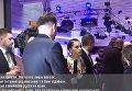 Провокационный вопрос российской журналистки в адрес Петра Порошенко