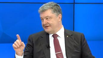 Порошенко в Давосе: Россия развернула войну против нас всех. Видео