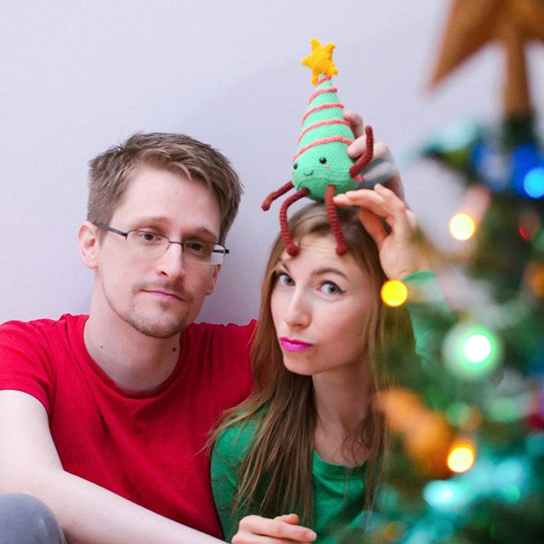 Странный инстаграм девушки Эдварда Сноудена