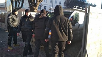 Снос памятника Тарасу Шевченко в Виннице