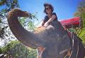 Даша Астафьева на отдыха в Таиланде