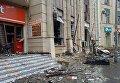 На месте взрыва в Баку