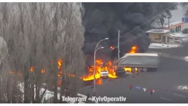 ДТП на Заболотного в Киеве