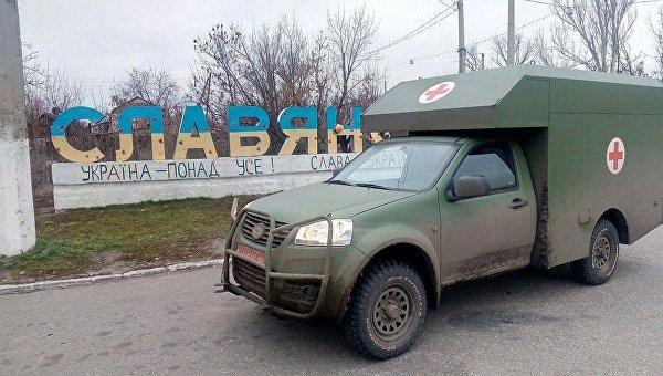 Санитарный автомобиль Богдан-2251