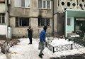 Место пожара в многоэтажке на киевской борщаговке