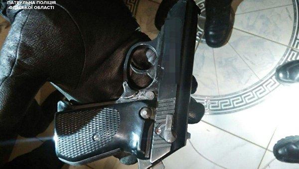 Полиция обнаружила у одессита арсенал оружия