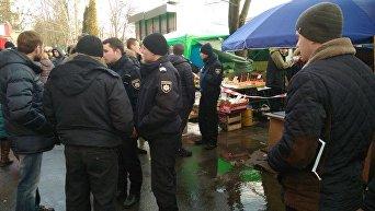 На месте перестрелки в Киеве, 29 января 2018