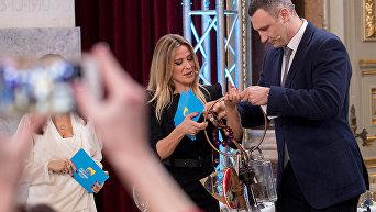 Кличко передал мэру Лисабона ключи от Евровидения