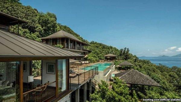 Виллы на Сейшельских островах, арендованные семьей Луценко