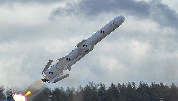 Испытания крылатой ракеты