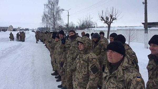 Сборы резервистов в Сухопутных войсках ВСУ