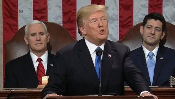 Обращение Дональда Трампа к конгрессу США