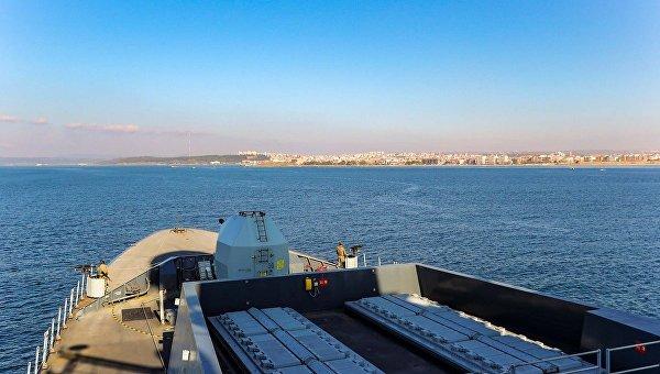 Эсминец Королевских ВМС Великобритании HMS Duncan