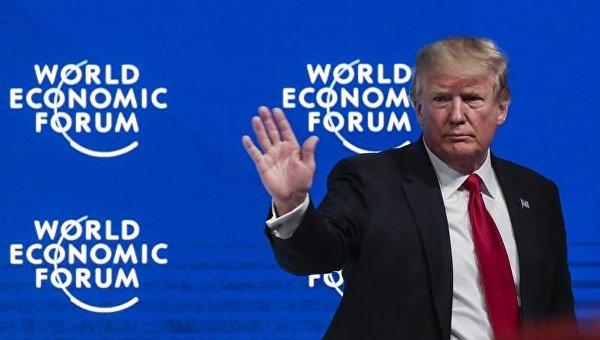 Президент США на Всемирном экономическом форуме в Давосе