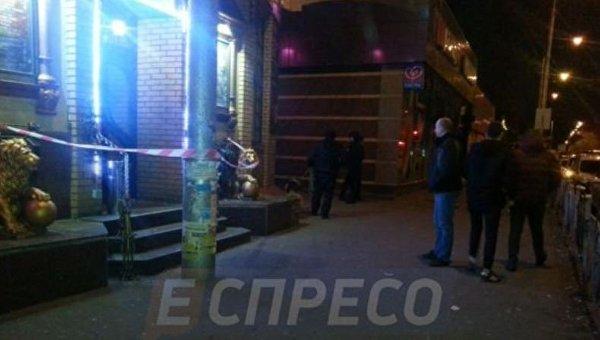 В Киеве во время драки в ресторане убили военного