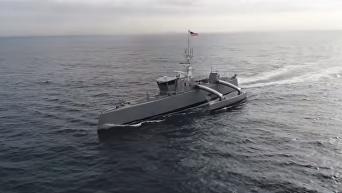 В США испытали автономного охотника за подлодками. Видео