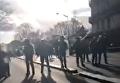 Протесты старшеклассников в Париже