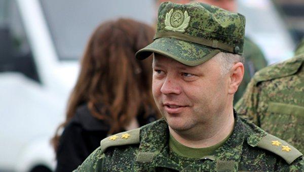 Министр обороны ДНР Владимир Кононов. Архивное фото