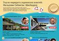 Заграничные вояжи украинских властей. Инфографика