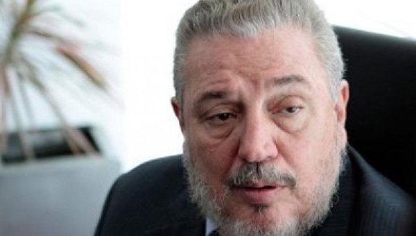 Старший сын Фиделя Кастро Фидель Анхель Кастро Диас-Баларт