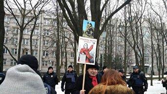 Запорожье: акция Полка Победы, посвященная Сталинградской битве