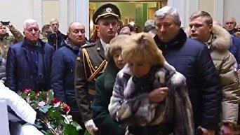 Прощание с Леонидом Каденюком