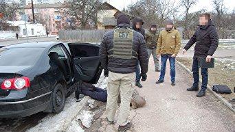 Задержание торговцев оружием в Чернигове
