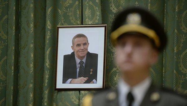 Церемония прощания с Леонидом Каденюком