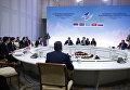 Заседанин Евразийского межправительственного совета с участием глав правительств стран-участниц ЕАЭС.
