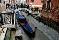 Легендарные каналы Венеции высыхают из-за аномальной погоды