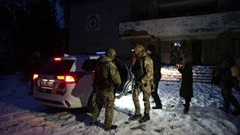 В Киеве показали, как освобождали заложников. Видео