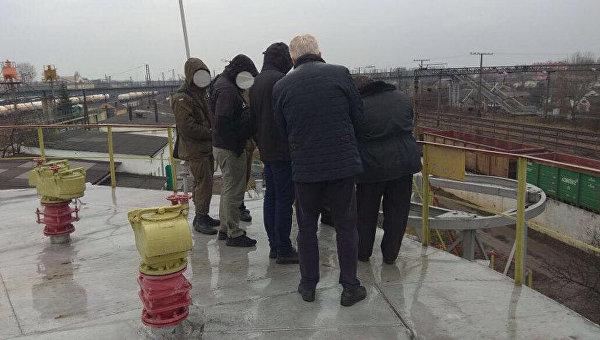 На месте задержания в Закарпатской области