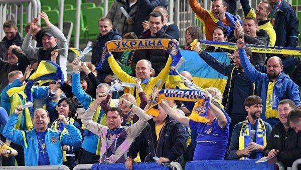 Матч Евро-2018 по футзалу между сборными Украины и Румынии