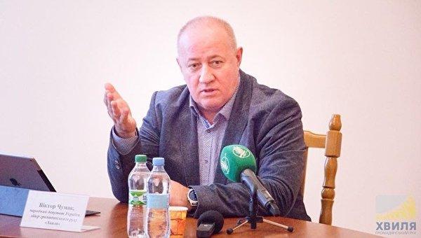 Народный депутат Украины Виктор Чумак