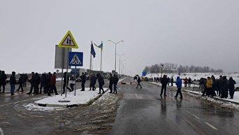 Митинги возле украинско-польской границы
