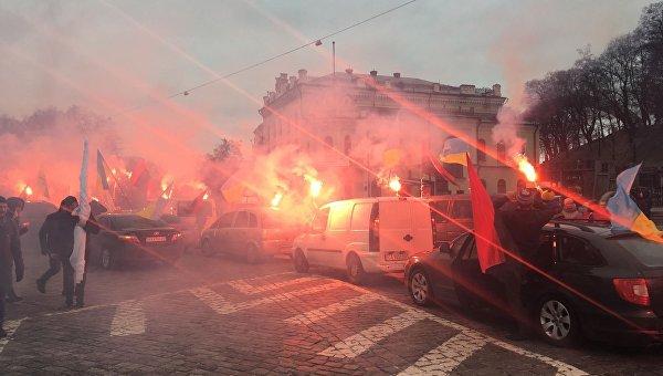 Вече Саакашвили в Киеве