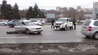 В сети появилось видео с места гибели известного волонтера (18+). Видео