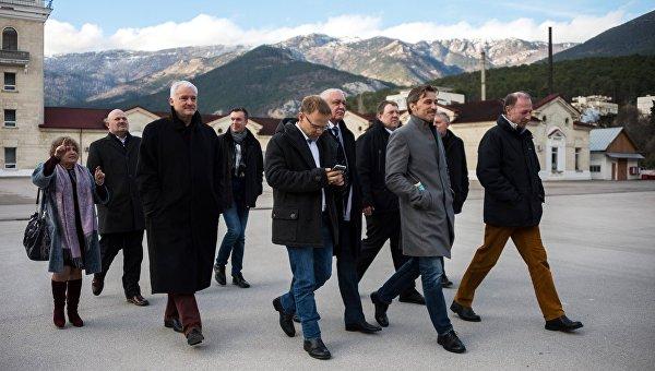 Визит немецкой делегации в Крым. Архивное фото