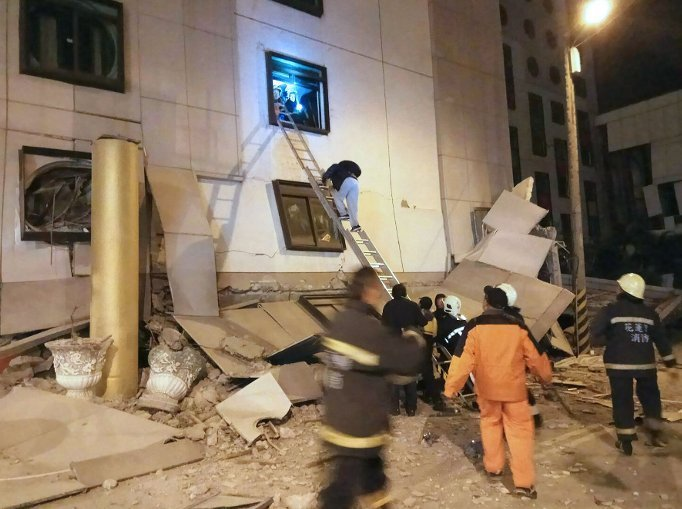 Землетрясение на Тайване