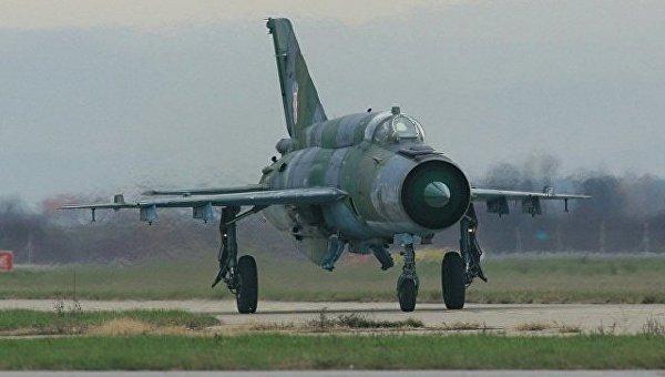 Истребитель МиГ-21 ВВС Хорватии