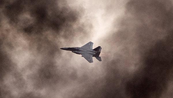 Истребитель ВВС Израиля F-15