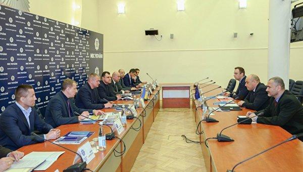 Рабочее совещание руководителей Нацполиции Украины с представителями консультативной миссии ЕС, 6 февраля 2018