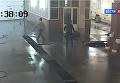 В России владелец BMW одним ударом убил работника автомойки. Видео