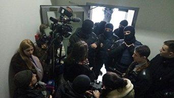 Силовики в редакции Вестей 8 февраля 2018 года