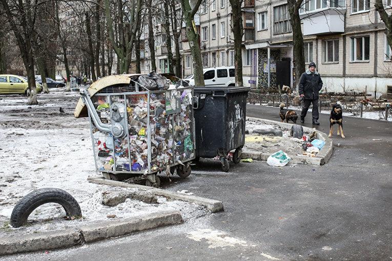 Мусор в Киеве