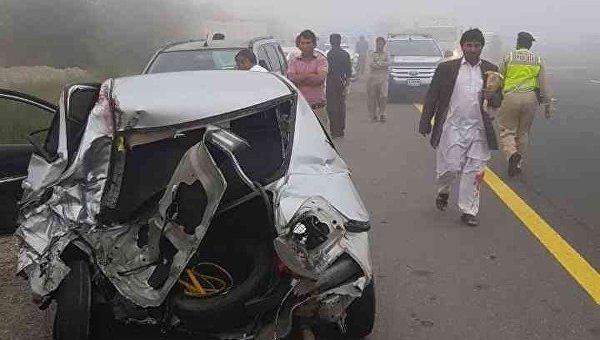 В Дубае в ДТП разбились 28 машин
