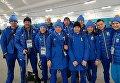 Джима, Меркушина, Валя Семеренко, Вита Семеренко (в центре) представят Украину в первой гонке Олимпийских игр