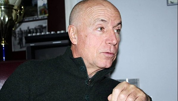 Спортивный журналист Валентин Щербачев