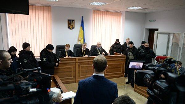 Судовое заседание по делу Бузины