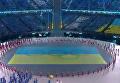 Сборная Украины торжественно прошла на открытии Игр-2018. Видео